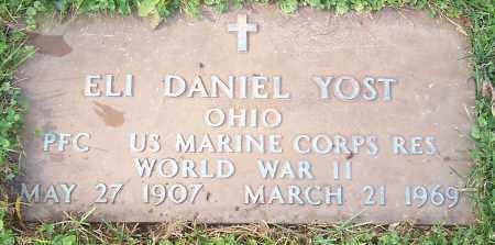 YOST, ELI DANIEL - Stark County, Ohio | ELI DANIEL YOST - Ohio Gravestone Photos