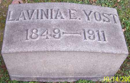 YOST, LAVINIA E. - Stark County, Ohio | LAVINIA E. YOST - Ohio Gravestone Photos