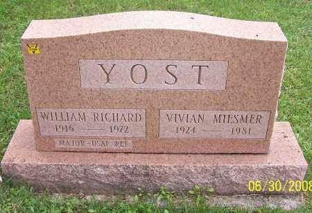 YOST, WILLIAM RICHARD - Stark County, Ohio | WILLIAM RICHARD YOST - Ohio Gravestone Photos