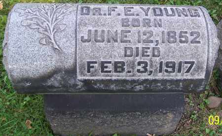 YOUNG, DR.F.E. - Stark County, Ohio | DR.F.E. YOUNG - Ohio Gravestone Photos