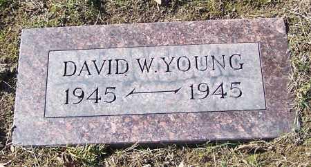 YOUNG, DAVID W. - Stark County, Ohio | DAVID W. YOUNG - Ohio Gravestone Photos