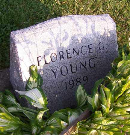 YOUNG, FLORENCE G. - Stark County, Ohio | FLORENCE G. YOUNG - Ohio Gravestone Photos