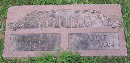 YOUNG, GEORGE B. (JR) - Stark County, Ohio | GEORGE B. (JR) YOUNG - Ohio Gravestone Photos