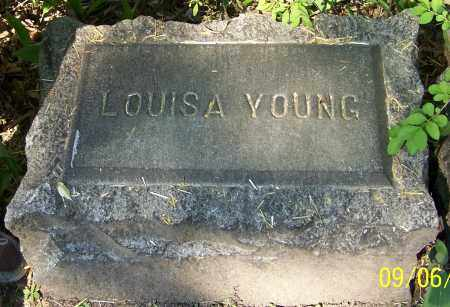 YOUNG, LOUISA - Stark County, Ohio | LOUISA YOUNG - Ohio Gravestone Photos