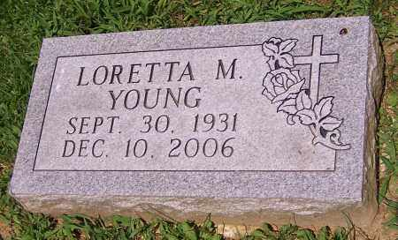 YOUNG, LORETTA M. - Stark County, Ohio | LORETTA M. YOUNG - Ohio Gravestone Photos