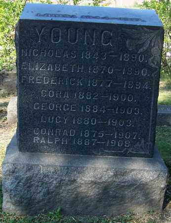 YOUNG, CORA - Stark County, Ohio | CORA YOUNG - Ohio Gravestone Photos