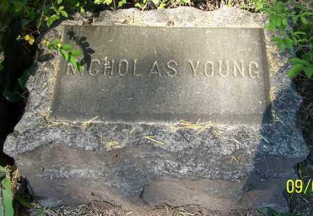 YOUNG, NICHOLAS - Stark County, Ohio | NICHOLAS YOUNG - Ohio Gravestone Photos