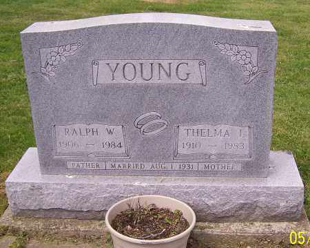 YOUNG, RALPH W. - Stark County, Ohio | RALPH W. YOUNG - Ohio Gravestone Photos