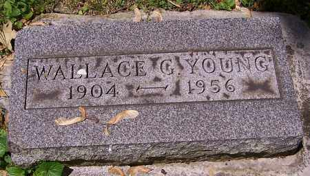 YOUNG, WALLACE G. - Stark County, Ohio | WALLACE G. YOUNG - Ohio Gravestone Photos