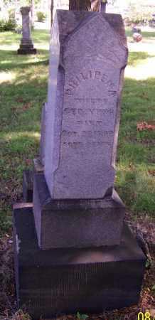 YOYNG, PHILIPENA - Stark County, Ohio | PHILIPENA YOYNG - Ohio Gravestone Photos
