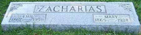 ZACHARIAS, EMIL - Stark County, Ohio   EMIL ZACHARIAS - Ohio Gravestone Photos