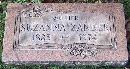 ZANDER, SUZANNA - Stark County, Ohio | SUZANNA ZANDER - Ohio Gravestone Photos