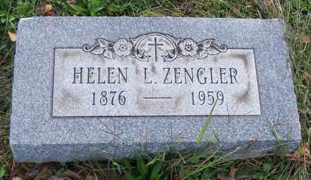 ZENGLER, HELEN L. - Stark County, Ohio | HELEN L. ZENGLER - Ohio Gravestone Photos