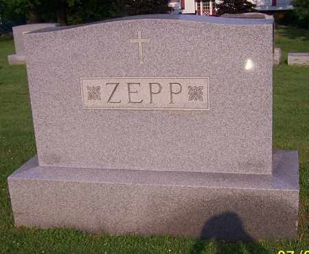ZEPP, FAMILY - Stark County, Ohio | FAMILY ZEPP - Ohio Gravestone Photos