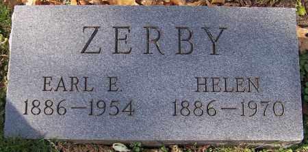 ZERBY, EARL E. - Stark County, Ohio | EARL E. ZERBY - Ohio Gravestone Photos