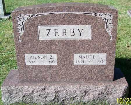 ZERBY, MAUDE L. - Stark County, Ohio | MAUDE L. ZERBY - Ohio Gravestone Photos