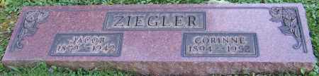 ZIEGLER, JACOB - Stark County, Ohio | JACOB ZIEGLER - Ohio Gravestone Photos
