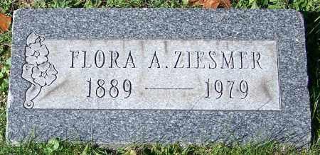 ZIESMER, FLORA A. - Stark County, Ohio | FLORA A. ZIESMER - Ohio Gravestone Photos