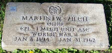 ZILCH, MARTIN W. - Stark County, Ohio | MARTIN W. ZILCH - Ohio Gravestone Photos