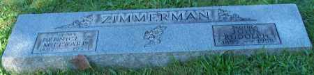 ZIMMERMAN, BERNICE Z. MILLWARD - Stark County, Ohio | BERNICE Z. MILLWARD ZIMMERMAN - Ohio Gravestone Photos