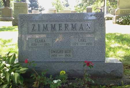 ZIMMERMAN, CARL - Stark County, Ohio | CARL ZIMMERMAN - Ohio Gravestone Photos