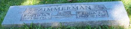 ZIMMERMAN, EDNA E. - Stark County, Ohio | EDNA E. ZIMMERMAN - Ohio Gravestone Photos