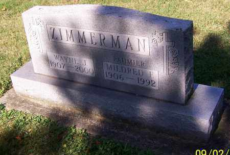 ZIMMERMAN, MILDRED F. - Stark County, Ohio | MILDRED F. ZIMMERMAN - Ohio Gravestone Photos