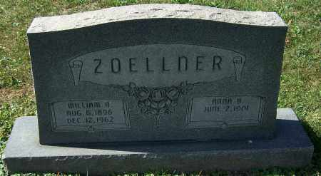 ZOELLNER, WILLIAM A. - Stark County, Ohio | WILLIAM A. ZOELLNER - Ohio Gravestone Photos