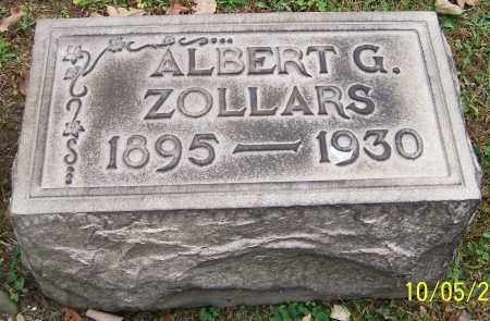ZOLLARS, ALBERT G. - Stark County, Ohio | ALBERT G. ZOLLARS - Ohio Gravestone Photos