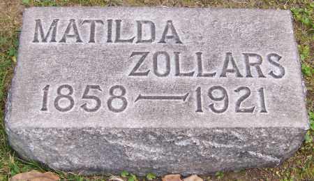 ZOLLARS, MATILDA - Stark County, Ohio | MATILDA ZOLLARS - Ohio Gravestone Photos
