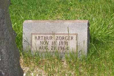 ZORGER, ARTHUR - Stark County, Ohio | ARTHUR ZORGER - Ohio Gravestone Photos