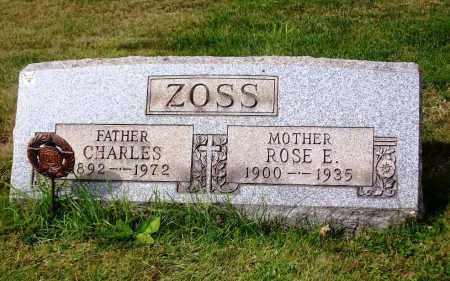 ZOSS, CHARLES - Stark County, Ohio | CHARLES ZOSS - Ohio Gravestone Photos