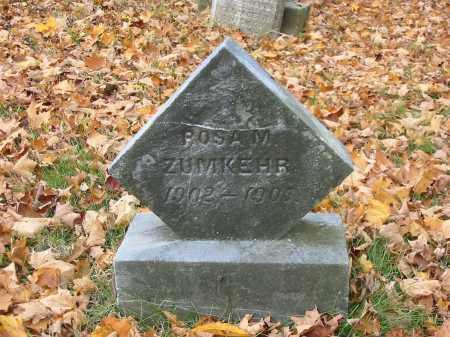 ZUMKEHR, ROSA M - Stark County, Ohio | ROSA M ZUMKEHR - Ohio Gravestone Photos