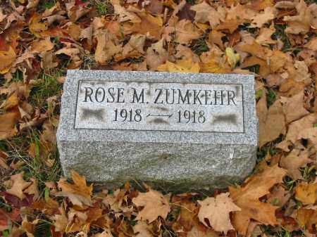 ZUMKEHR, ROSE M - Stark County, Ohio | ROSE M ZUMKEHR - Ohio Gravestone Photos
