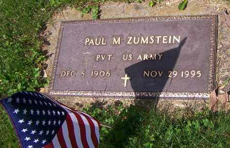 ZUMSTEIN, PAUL M. - Stark County, Ohio | PAUL M. ZUMSTEIN - Ohio Gravestone Photos