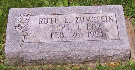 ZUMSTEIN, RUTH E. - Stark County, Ohio | RUTH E. ZUMSTEIN - Ohio Gravestone Photos