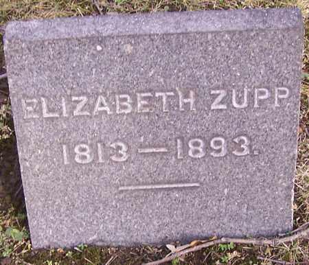 ZUPP, ELIZABETH - Stark County, Ohio | ELIZABETH ZUPP - Ohio Gravestone Photos