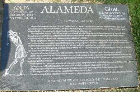 ALAMEDA, ANITA - Summit County, Ohio | ANITA ALAMEDA - Ohio Gravestone Photos
