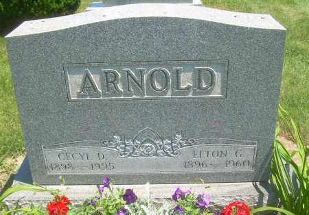 ARNOLD, CECYL D - Summit County, Ohio | CECYL D ARNOLD - Ohio Gravestone Photos