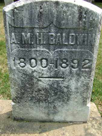 HUDSON BALDWIN, ANNER MARIA - Summit County, Ohio | ANNER MARIA HUDSON BALDWIN - Ohio Gravestone Photos