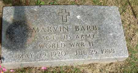 BARB, MARVIN - Summit County, Ohio | MARVIN BARB - Ohio Gravestone Photos