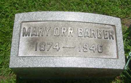 BARBER, MARY - Summit County, Ohio | MARY BARBER - Ohio Gravestone Photos