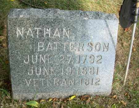 BATTERSON, NATHAN - Summit County, Ohio | NATHAN BATTERSON - Ohio Gravestone Photos