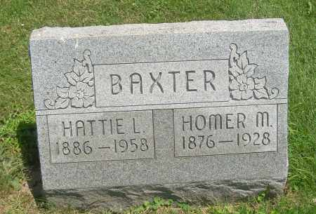 BAXTER, HATTIE L - Summit County, Ohio | HATTIE L BAXTER - Ohio Gravestone Photos
