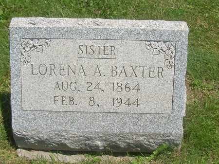 BAXTER, LORENA A - Summit County, Ohio | LORENA A BAXTER - Ohio Gravestone Photos