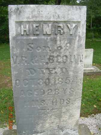 BEGUN, HENRY - Summit County, Ohio | HENRY BEGUN - Ohio Gravestone Photos