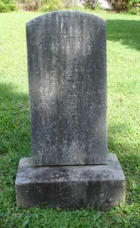 BENNAGE, DAVID - Summit County, Ohio   DAVID BENNAGE - Ohio Gravestone Photos