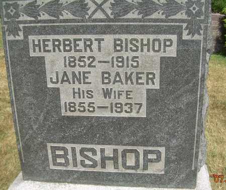 BAKER BISHOP, JANE - Summit County, Ohio | JANE BAKER BISHOP - Ohio Gravestone Photos