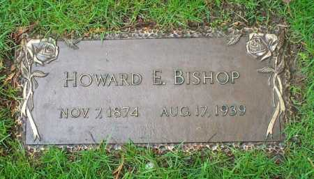 BISHOP, HOWARD EMERSON - Summit County, Ohio | HOWARD EMERSON BISHOP - Ohio Gravestone Photos