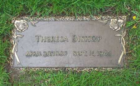 BISHOP, THERESA - Summit County, Ohio | THERESA BISHOP - Ohio Gravestone Photos